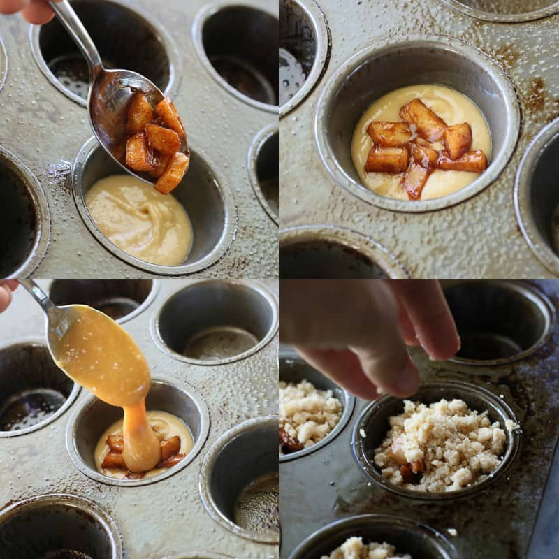 Salted Caramel Apple Cups | The Girl Who Ate Everything