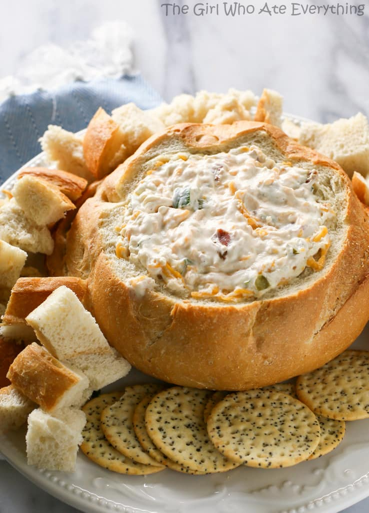 Warm Bacon Cheese Dip   The Girl Who Ate Everything