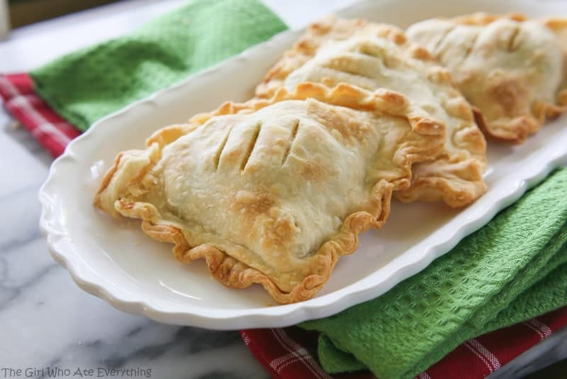 Tuscan Chicken and Broccoli Hand Pies   The Girl Who Ate Everything