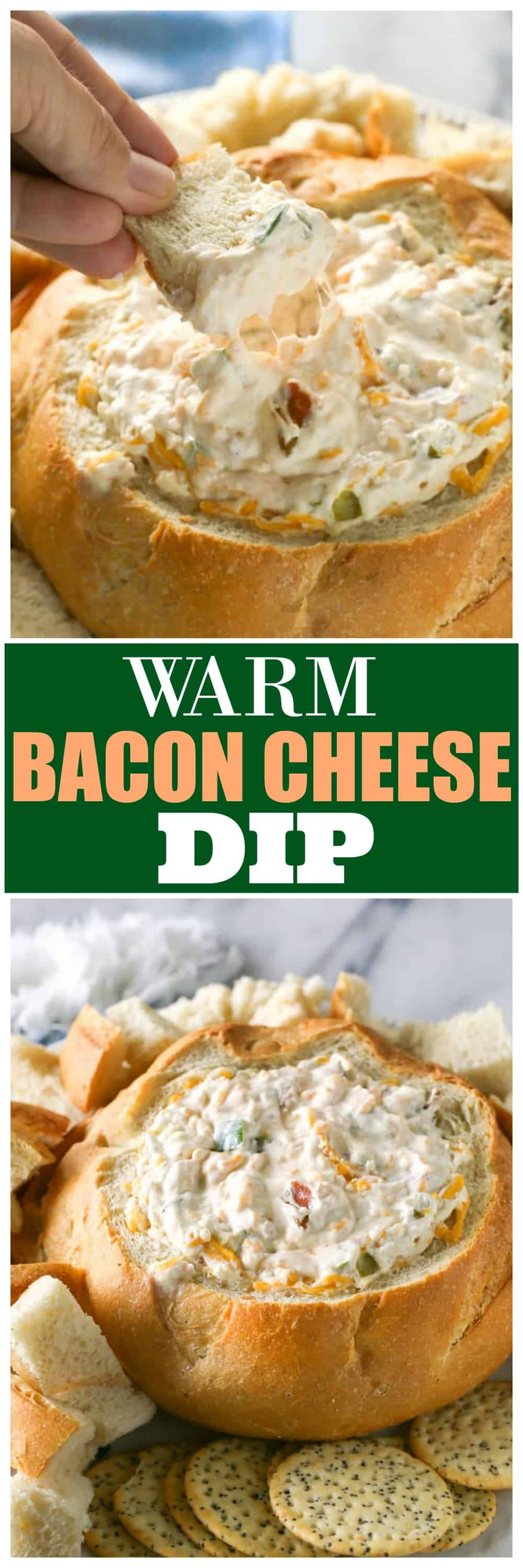 Warm Bacon Cheese Dip