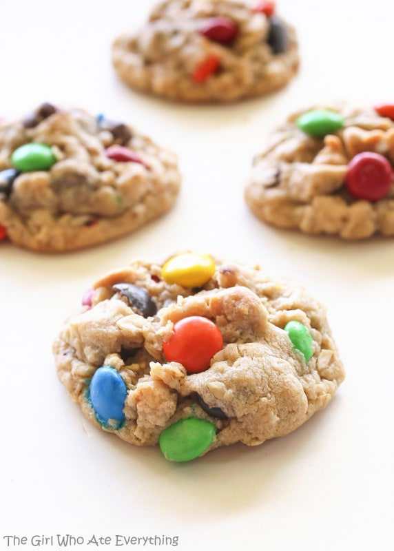 baked monster cookies