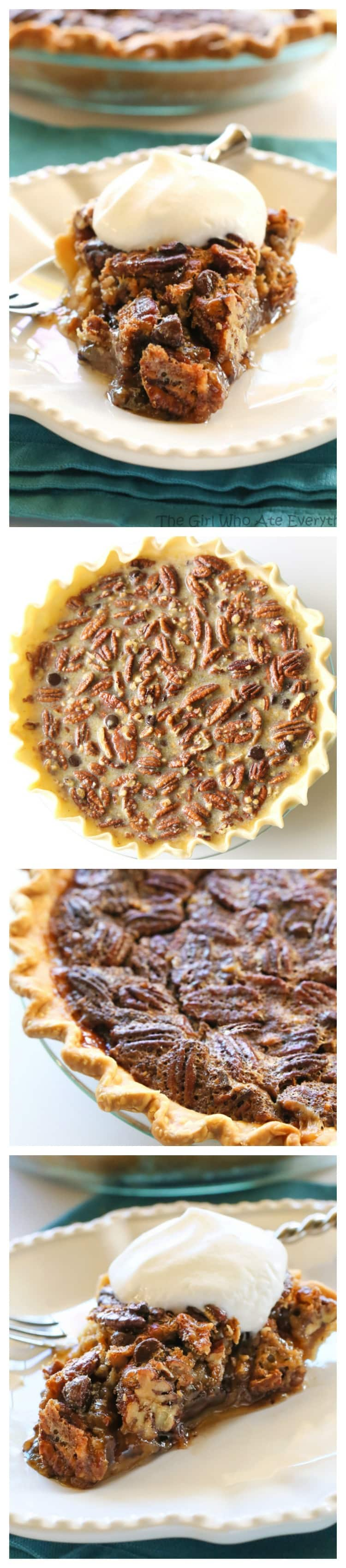 Chocolate Pecan Pie - The Girl Who Ate Everything