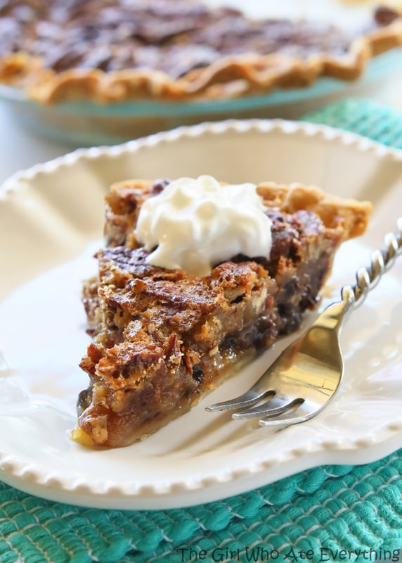 Chocolate Pecan Pie - inspired from the delicious pie from The Roaring ...