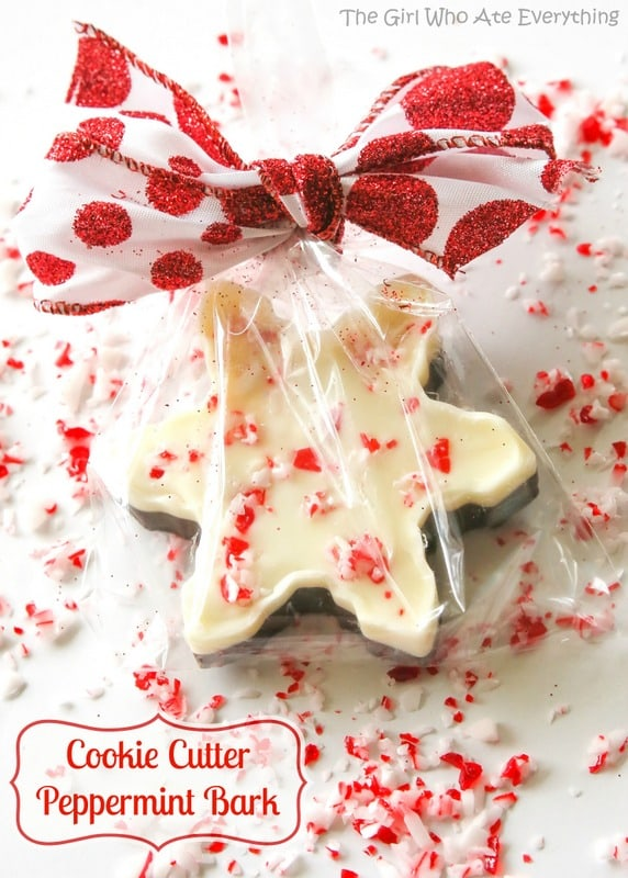 Cookie Cutter Peppermint Bark - Bake, Craft, Sew