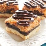 Samoa Brownie Bars