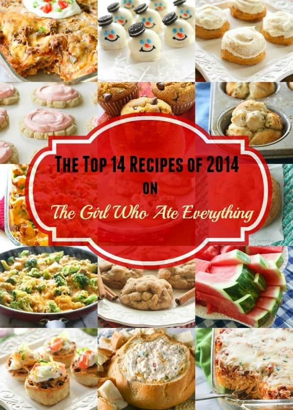 The top 14 Recipes of 2014. the-girl-who-ate-everything.com