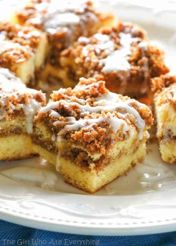 Butter Streusel Coffee Cake
