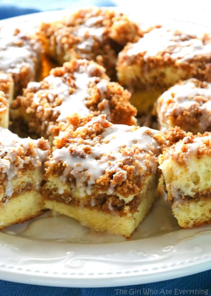 Graham Streusel Coffee Cake Recipe — Dishmaps