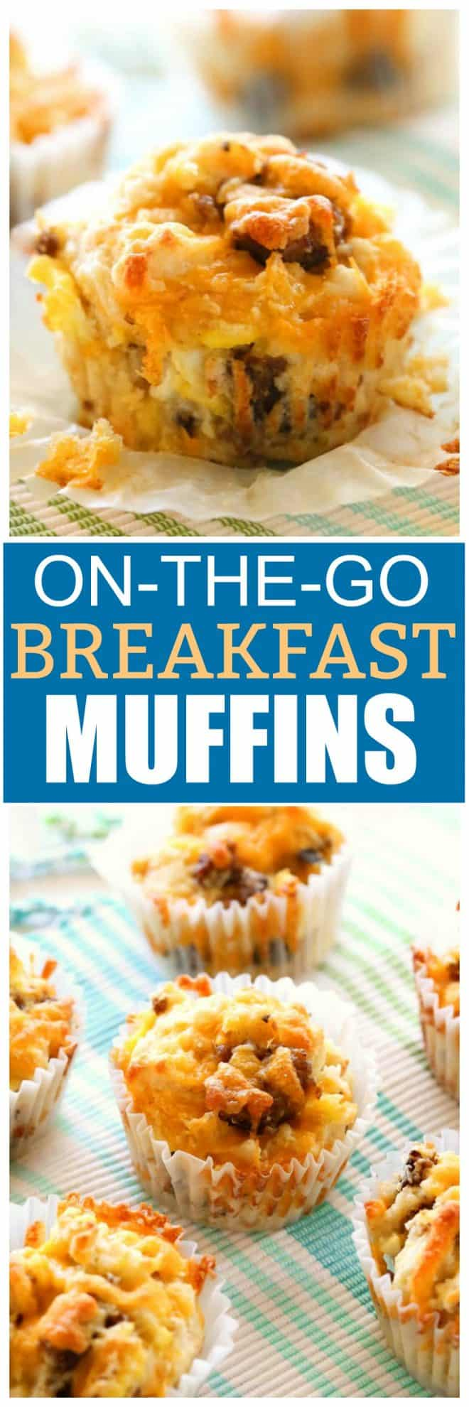On-the-go Breakfast Muffins