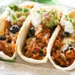 Green Chile Turkey Tacos