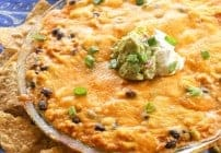 Chicken Burrito Dip