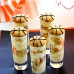 Vanilla Pudding Shooters - layers of vanilla pudding and crushed up Nilla wafers make for some easy basketball treats. www.the-girl-who-ate-everything.com