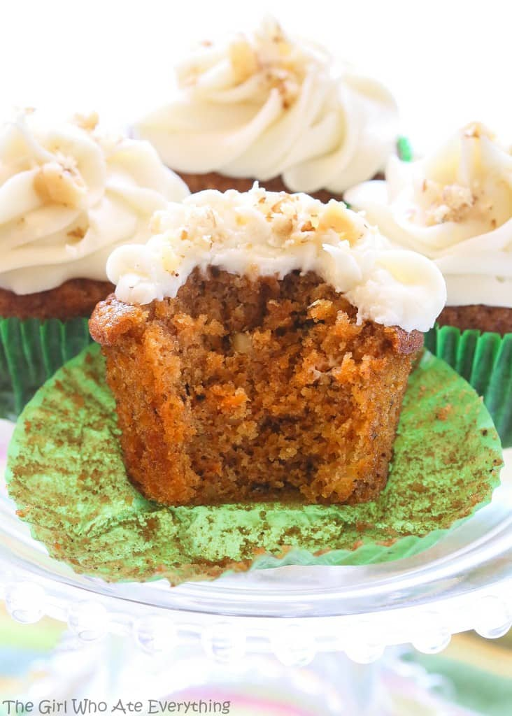 Carrot Cupcake With Cream Cheese Frosting Cream Cheese Frosting