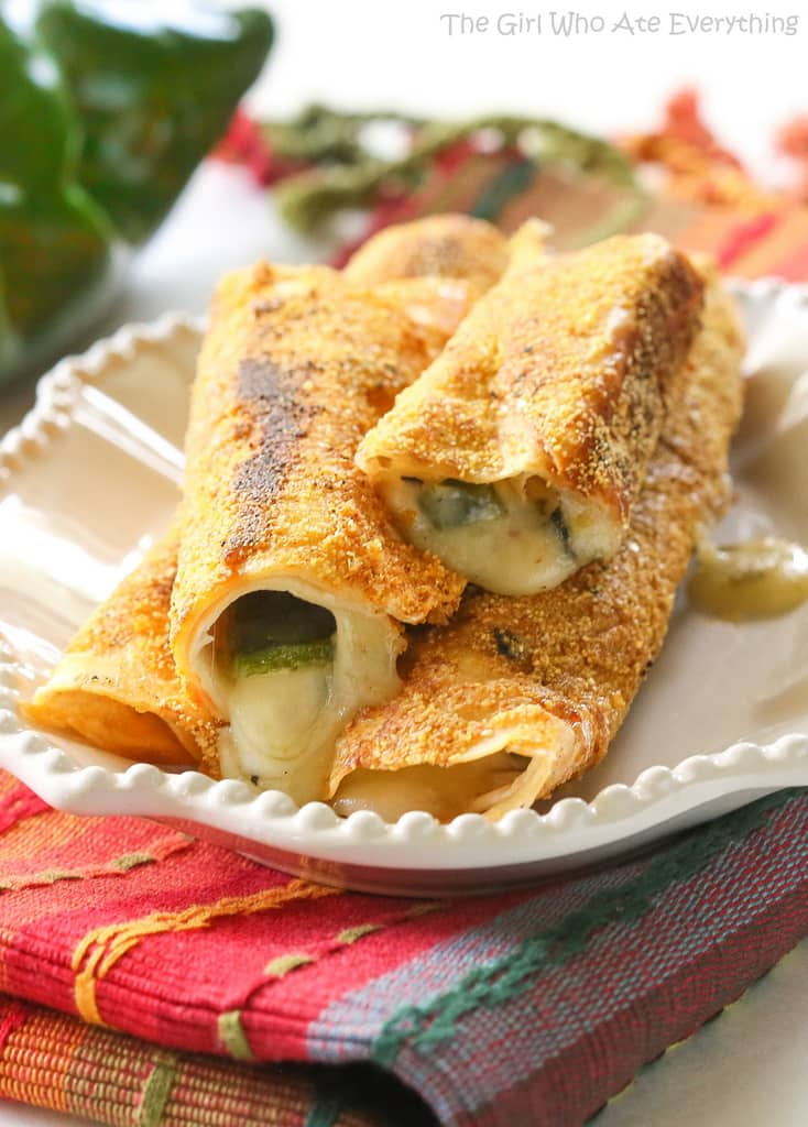 Chile Relleno Flautas The Girl Who Ate Everything