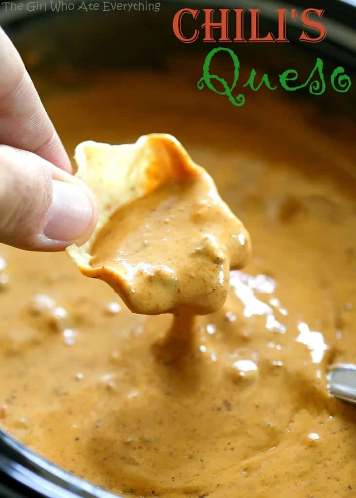 Chilis Queso Dip Recipe The Girl Who Ate Everything