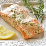 Rosemary Ranch Salmon - don't knock it til you try it. This combination of flavors is delicious. the-girl-who-ate-everything.com