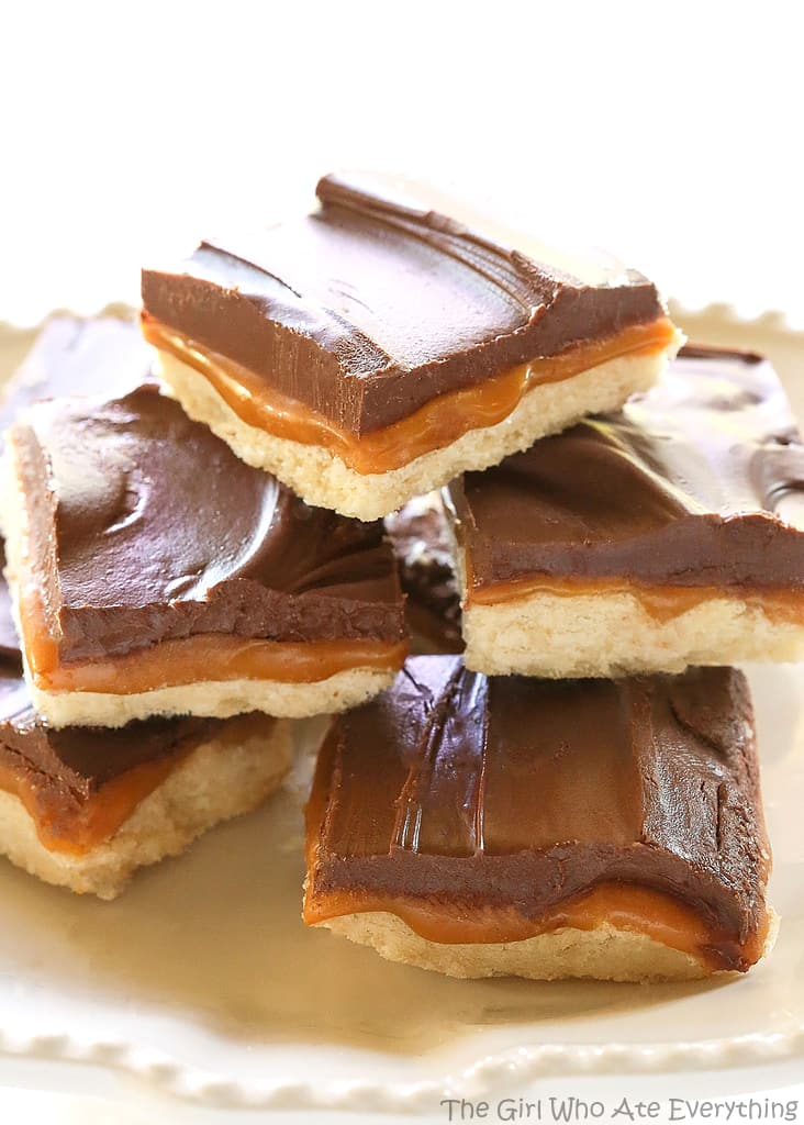 Homemade Twix Bars - The Girl Who Ate Everything