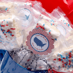 4th of July Marshmallow Treat Pops