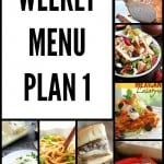 A Weekly Menu Plan so you don't have to worry about what to make! the-girl-who-ate-everything.com