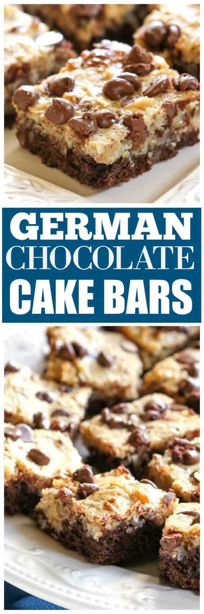 German Chocolate Cake Bars The Girl Who Ate Everything