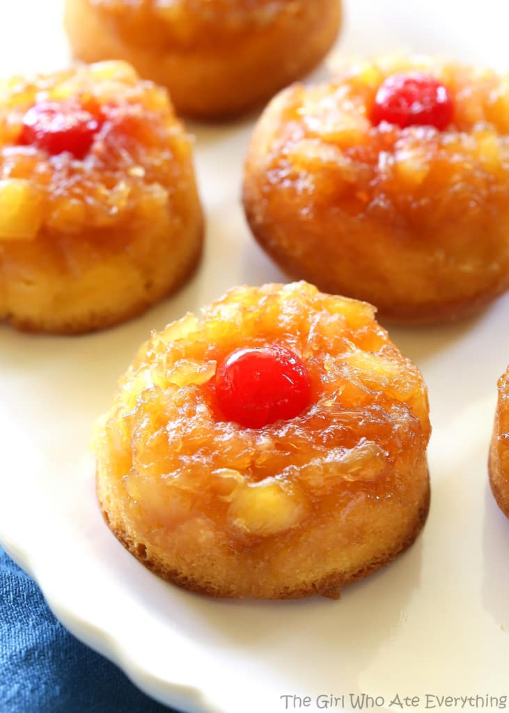 Pineapple Upside Down Cupcakes The Girl Who Ate Everything