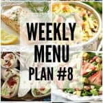 Weekly Menu Plan #8