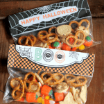 Halloween Party Mix with Printable Bag Toppers