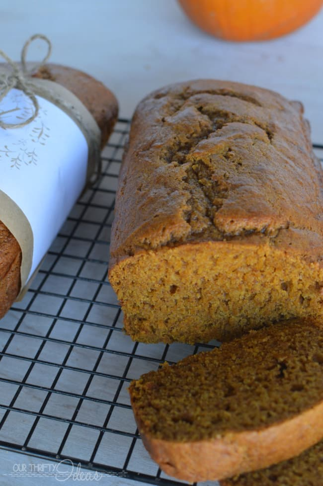 Kneaders Pumpkin Bread Recipe