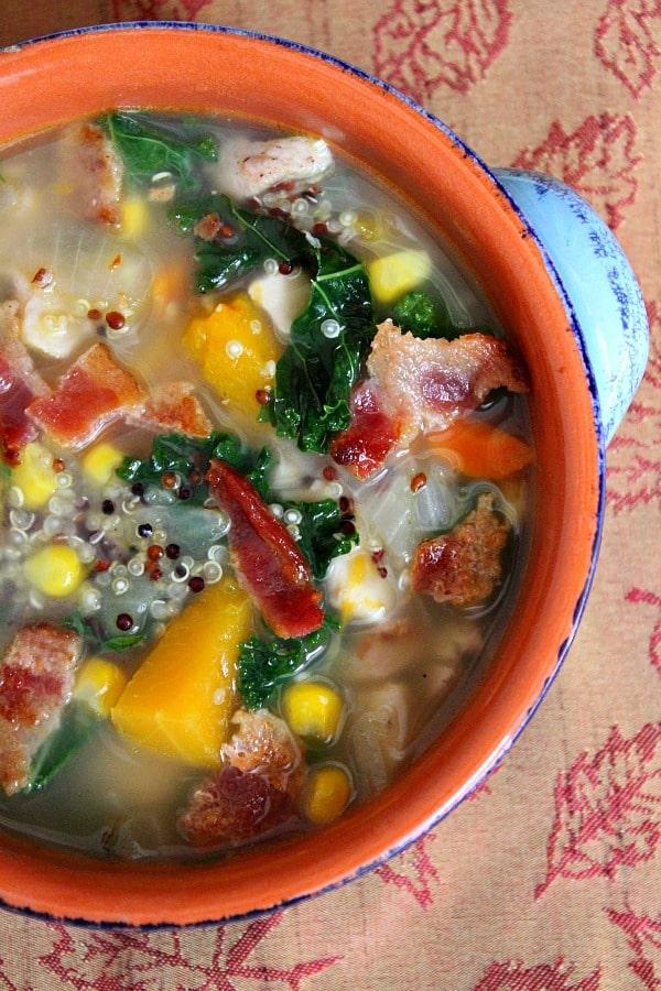 Harvest Vegetable & Chicken Soup - Weekly Menu Plan #18