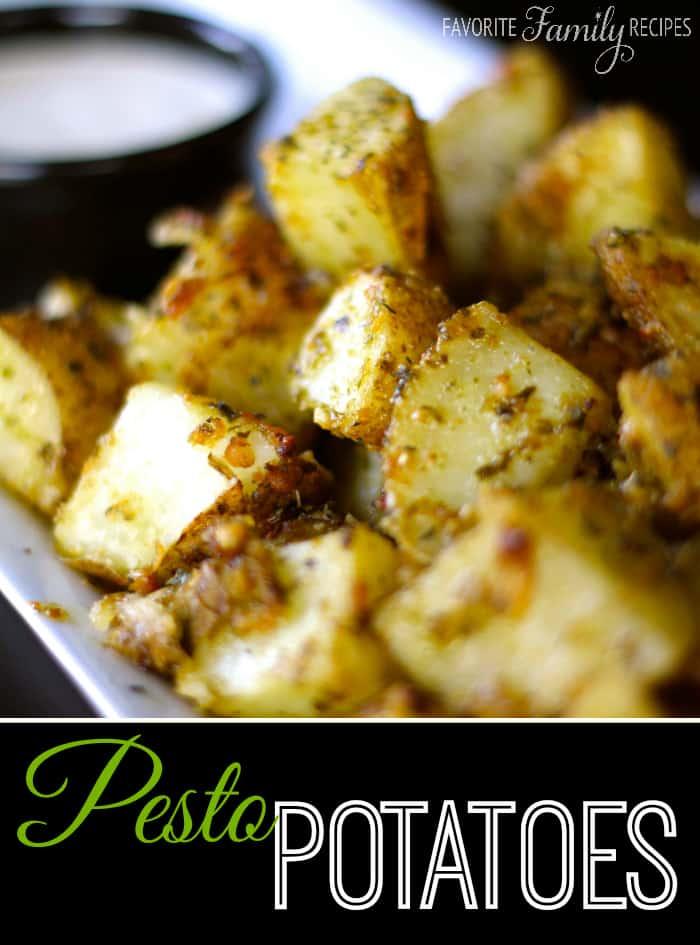 Pesto Potatoes - Weekly Menu Plan #18