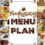 The Ultimate Thanksgiving Menu Plan