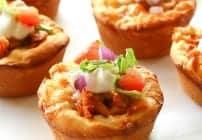 Chicken Taco Cupcakes