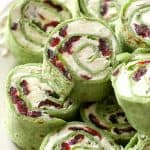 Cranberry and Feta Pinwheels