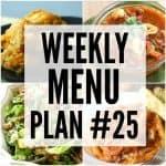 Weekly Menu Plan #25 HERO