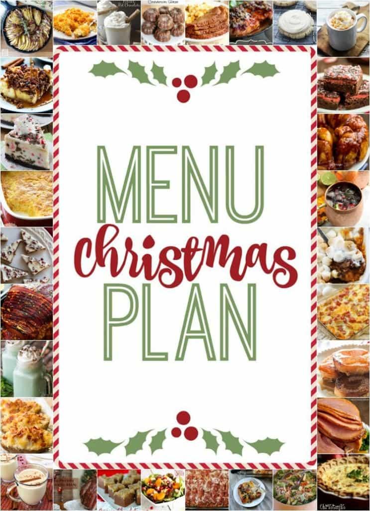 终极圣诞节菜单计划