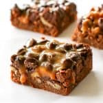 Chocolate Turtle Brownies