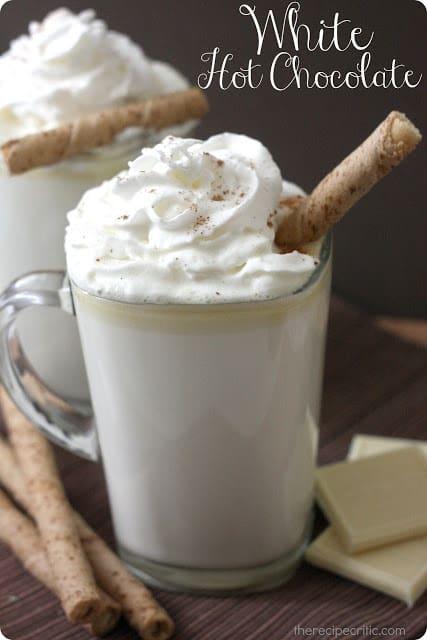 热白巧克力