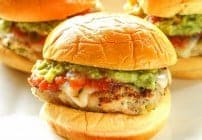 Green Chile Chicken Sliders
