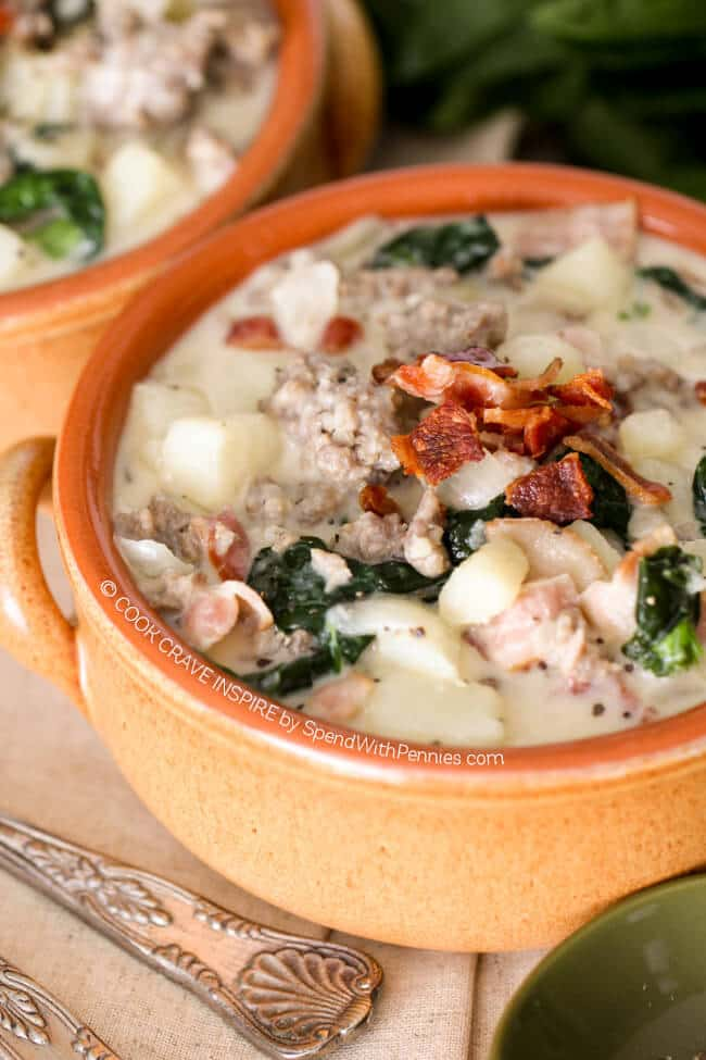 Zuppa Toscana - Weekly Menu Plan #33