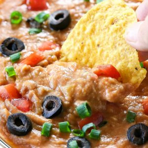 Four Ingredient Bean Dip - too easy for how good it is. the-girl-who-ate-everything