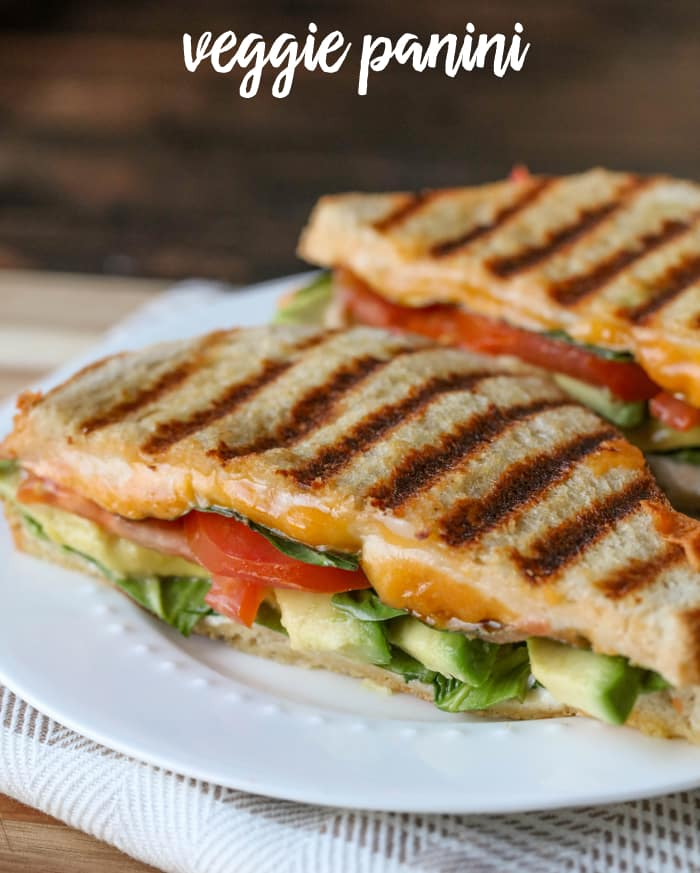 Veggie Panini - Weekly Menu Plan #33
