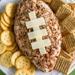 Ham and Cheddar Cheese Ball
