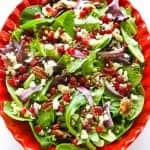 Pomegranate Feta Salad