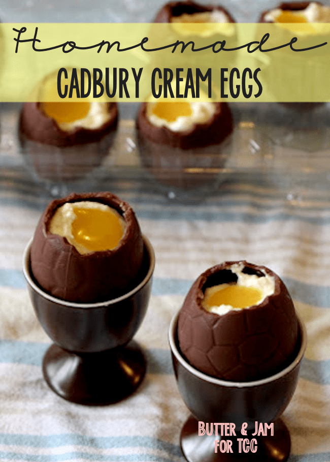 Homemade Cadbury Creme Eggs