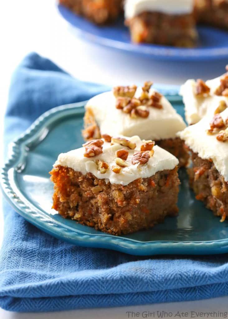 Moist Carrot Cake Recipe Easter Easy Dessert Nuts The Girl Who Ate
