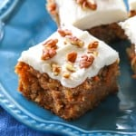 Moist Carrot Cake - super moist carrot cake that full of flavor. the-girl-who-ate-everything.com
