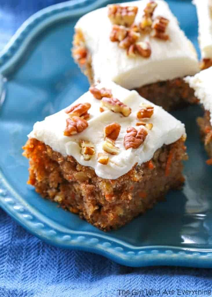Carrot Cake Food Photography
