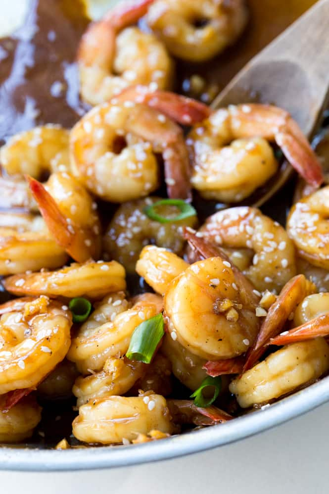 Easy Teriyaki Shrimp - The Recipe Critic