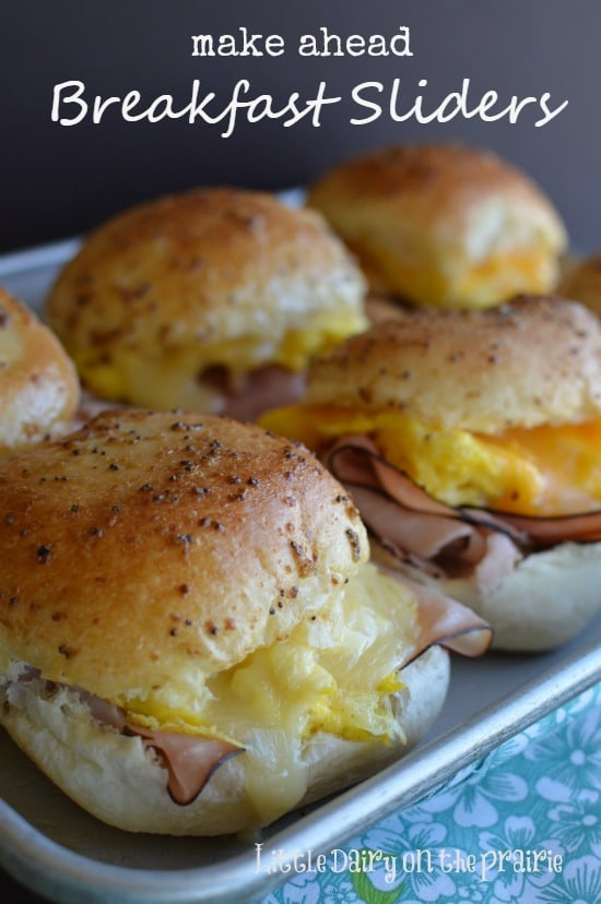Make Ahead Sliders-little dairy on the prairie