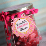 Mother's Day Candy Jar + Printable